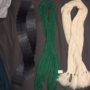 Accessories - Set of three scarves!